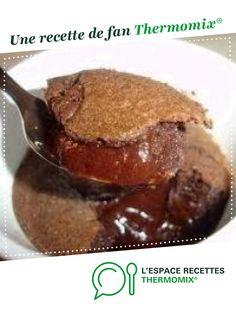Coulant au chocolat en ramequin par Elodie FAVRE. Une recette de fan à retrouver dans la catégorie Desserts & Confiseries sur www.espace-recettes.fr, de Thermomix<sup>®</sup>.