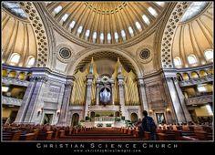 Christian Science Church in Boston