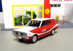 Tomica Limited Vintage Neo LV-N67a 1975 Nissan Skyline Van 1600 Deluxe Coca Cola '75 coke