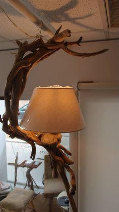 φωτιστικό οροφής απο θαλασσόξυλα .....FB..Driftwood art.Τεχνης Θαλασσοξυλα
