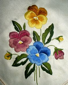 19 ideas for embroidery ideas machine thread painting Crewel Embroidery Kits, Embroidery Flowers Pattern, Japanese Embroidery, Free Machine Embroidery, Hand Embroidery Designs, Ribbon Embroidery, Embroidery Ideas, Bordado Floral, Thread Painting