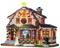 lemax decorating the house 15247 miniature christmas village house lights and sounds