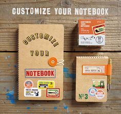 CUSTOMIZE ITEMS | TRAVELER'S notebook