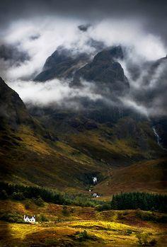 Blaven and malevolent weather. Isle of Skye, Scotland. by barbara jones