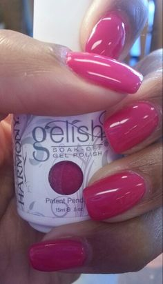 Gelish nail polished- gossip girl.