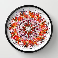 GAMANI Wall Clock by Chrisb Marquez - $30.00
