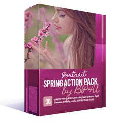 *NEW* Spring Portrait Action Pack