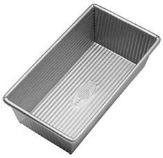 USA Pan Bakeware Aluminized Steel 1 Pound Loaf Pan => Details can be found : Bread and Loaf Pans Pan Bread, Loaf Pan, Bread Food, Meat Loaf, Pound Cake Recipes, Banana Bread Recipes, Gf Recipes, Chicken Recipes, Strawberry Brownies