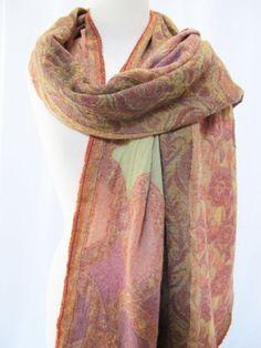 """""""Moroccan"""" Boiled Wool Scarf Shawl Wrap Stole Multi Burnt Orange Gold Green, http://www.amazon.com/dp/B001GGTKXA/ref=cm_sw_r_pi_awd_.JV8rb0Y31V4Z"""