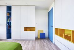 This Lego-inspired apartment is one big playspace