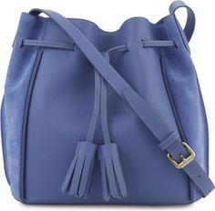 LONGCHAMP Pénélope Fantaisie leather bucket bag