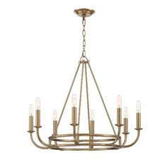 This traditional chandelier from Crystorama is a part of the Bailey collection and comes in a aged brass finish Entry Chandelier, Linear Chandelier, Black Chandelier, Chandelier Shades, Chandelier Lighting, Dining Table Lighting, Transitional Lighting, Candelabra Bulbs, Entry Foyer