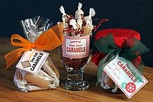 Sea Salt Caramel Gift Ideas & Printable Tags...directions for easy yumminess.