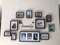 Kazi family, photo wall