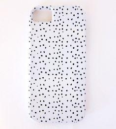 dalmatian pattern iphone case.