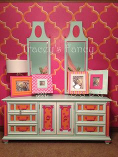 Finley - Vintage Dresser MADE TO ORDER by TraceysFancy on Etsy https://www.etsy.com/listing/151372645/finley-vintage-dresser-made-to-order