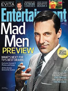 Love Mad Men! And Don Draper....  http://popwatch.ew.com/2012/03/07/this-weeks-cover-jon-hamm-mad-men/