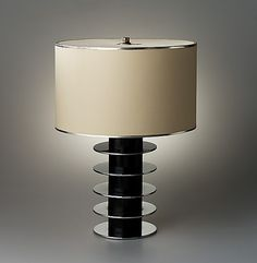 Art Deco/Streamline/Machine Age Donald Deskey table lamp, 1930