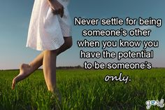 Never settle for anything less. Cause no matter what your a very important person and deserve the world if need it. Quotes For Him, Cute Quotes, Great Quotes, Quotes To Live By, Funny Quotes, Inspirational Quotes, Cheating Boyfriend Quotes, Cheater Quotes, All That Matters