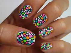 9 Best Stained Glass Nail Art Designs