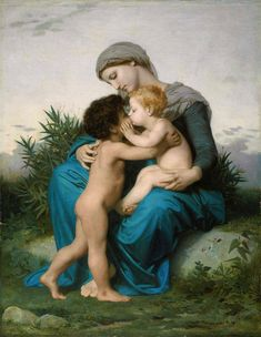 Classical Paintings By William-Adolphe Bouguereau