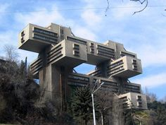 Soviet Brutalist buildings from the mid-20th century - Business ...