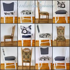 von alt zu neu stuhl streichen und er sieht aus wie neu m bel streichen pinterest. Black Bedroom Furniture Sets. Home Design Ideas