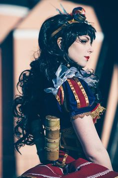 "steampunktendencies: ""Steampunk Snow White Cosplay : Tenkou Cosplay Photo : Carl…"