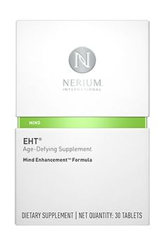 Help defend your brain against the signs of aging with EHT® Age-Defying Supplement, Mind Enhancement Formula™. This breakthrough supplement features the patented EHT® molecule, which helps keep neural connections strong – resulting in increased brain performance and a healthy, focused mind. Each box contains a full 30-day supply.