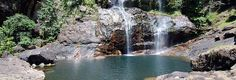 Another travel destination in Labuan Bajo. A wonderful gate to Mbeliling mountain, Cunca Rami Waterfall.