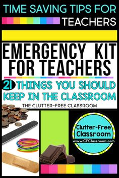There's nothing worse than not having something you desperately need when in your classroom. That's why you need a teacher emergency kit. There are plenty of kits you can buy out there, but I prefer the DIY version. See everything a veteran teacher feels