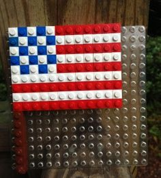 July 4 lego flag, and a few other patriotic ideas