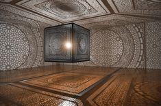 Intersections, 2014 Anila Quayyum Agha @anilaqagha via @fubiz  for #material #form