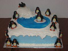 I love this penguin cake!