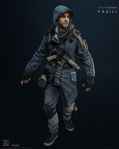 — Character art from the F2P shooter Dirty Bomb by Splash Damage & Nexon