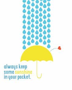 Keep some sunshine in your pocket .| Wednesday Fuel Sunshine Series | Bloggeretterized