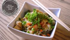 Chicken Fried Cauliflower Rice - At the Tip of the Tongue- Slow cooker balsamic and garlic palette roast – At the tip of the tongue Chicken Fried Cauliflower Rice, Fried Chicken, Beignets, Pesto, Cordon Bleu, Tasty Dishes, Slow Cooker, Chicken Recipes, Food And Drink