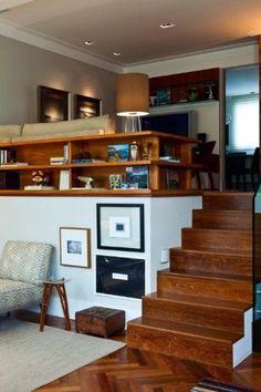 Madeira sobre paleta neutra de cores dá tom leve à casa no Alto de Pinheiros - Casa e Decoração - UOL Mulher