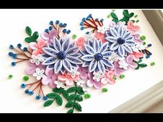 The Quilling Flower Decoration Series are original designed by Kelly Sng. Here you will learn how to make quilling flower. Neli Quilling, Quilling Videos, Paper Quilling For Beginners, Paper Quilling Flowers, Paper Quilling Tutorial, Quilling Craft, Quilling Techniques, Paper Flowers Diy, Diy Paper