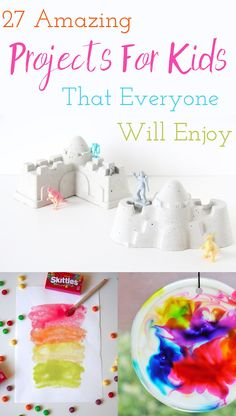 Summer Ideas-27 Amazing Projects For Kids That Anyone Would Enjoy