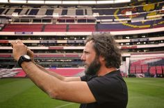 RAMÓN GRAU. Director of Photography: Felicidades Oriol Segarra . Estadio Azteca . Club América . DF Mexico marzo de este año .