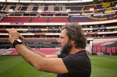 RAMÓN GRAU. Director of Photography: Felicidades Oriol Segarra . Estadio Azteca . Club América . DF Mexico marzo de este año .