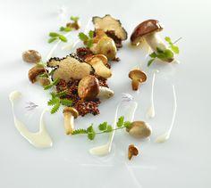 A Recipe by Mauro Colagreco | Quinoa risotto, mushrooms, chestnuts and parsley | FOUR Magazine