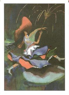 """Winston Mani: """"Cinco de Mayo."""" Notecard printed by La Posada."""