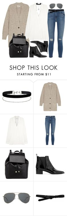 """""""Untitled #2569"""" by briarachele ❤ liked on Polyvore featuring Elsa Peretti, Miss Selfridge, Étoile Isabel Marant, Vince, Frame Denim, Barneys New York, Acne Studios, Yves Saint Laurent and Lowie"""