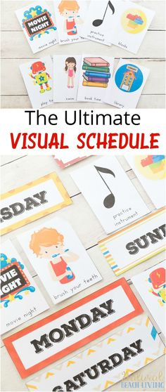 Rock Your Routine with a Printable Planner for Kids | Preschool ...