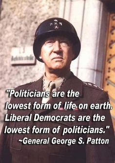 #teaparty #tcot #ocra George S Patton Jr. - Arguably the Greatest Battle Strategist the US ever produced P.S. Patton must not have known about RINOs