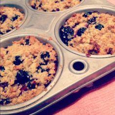 Sunday Funday Recipe: Paleo Blueberry Muffins.