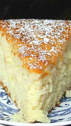 Old Fashioned Sugar Cake ~~ I love how simple this is and would go great with any flavor of ice cream,,!!
