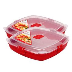 Medium Microwave Plate 2 Pack, $17, now featured on Fab.   http://fab.com/0zispm